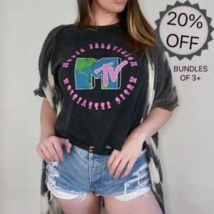 NWOT | MTV Music Television Graphic Tee | XL